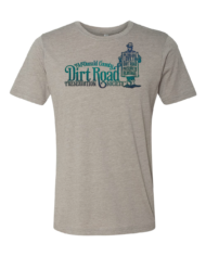 Cosmic Dirt Road shirt grey